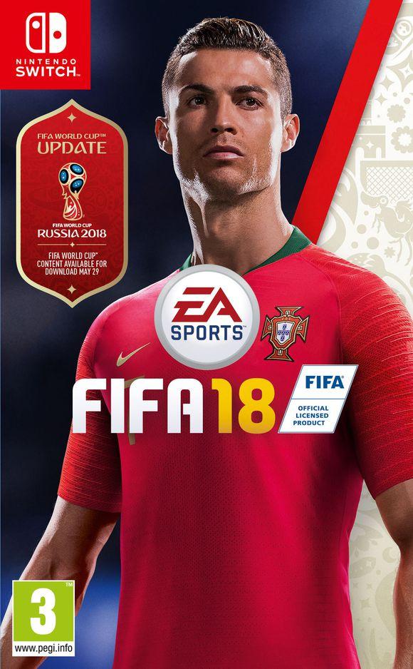 FIFA 18 (Switch) voor €16,50 @ Coolshop