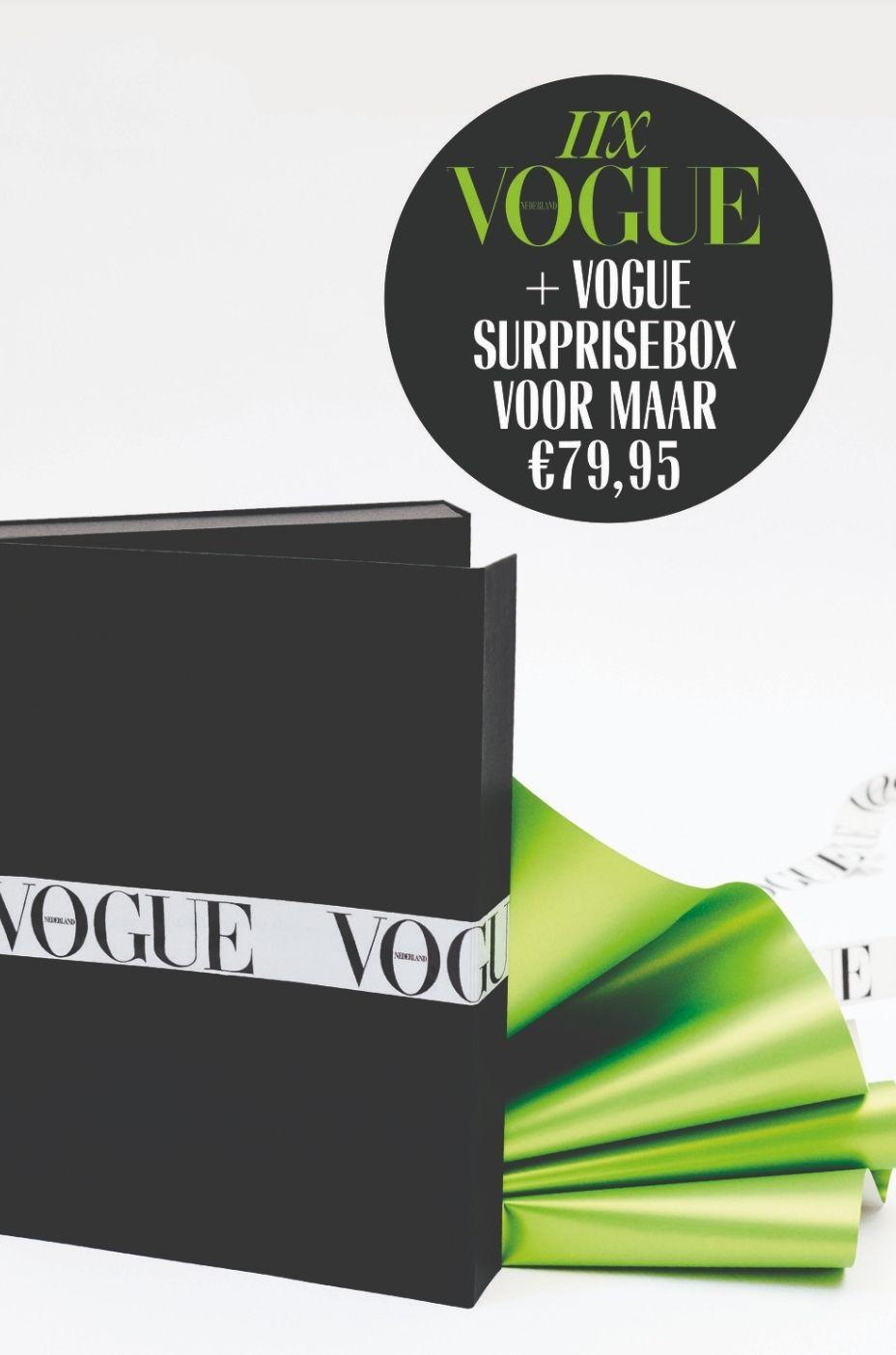 11x Vogue + Vogue surprisebox voor €79,95