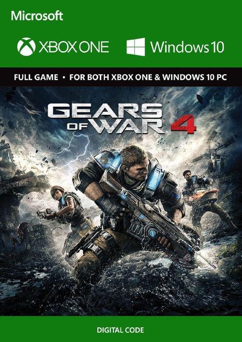 Gears of War 4 digitale code voor Xbox One en Windows 10