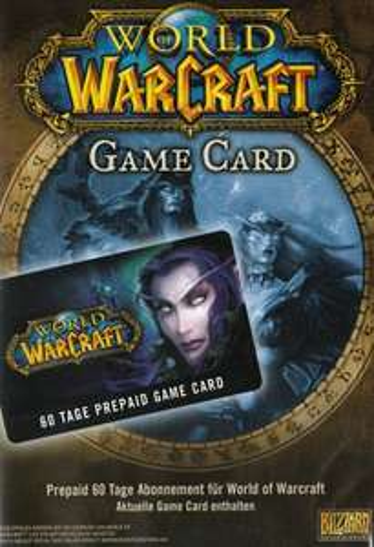 Amazon.de: World of Warcraft game card 60 dagen